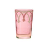 Tea glass Cindbad White, Rose