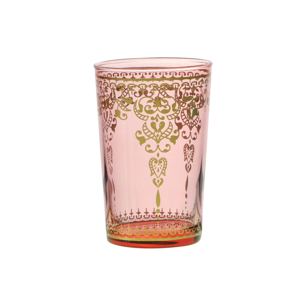 Tea glass Morjana Palais, Pink