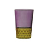 Tea Glass Tila Gold, Violet. D6xH9,5 cm