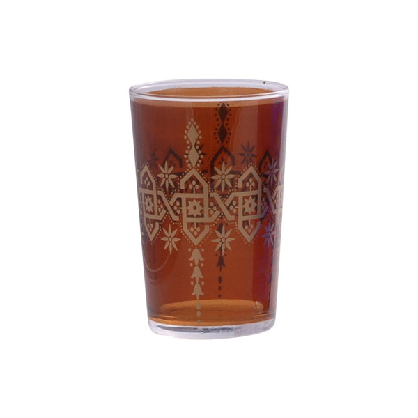 Tea glass Henna Berrad, Amber