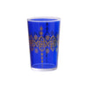 Tea glass Henna Berrad, Royal Blue