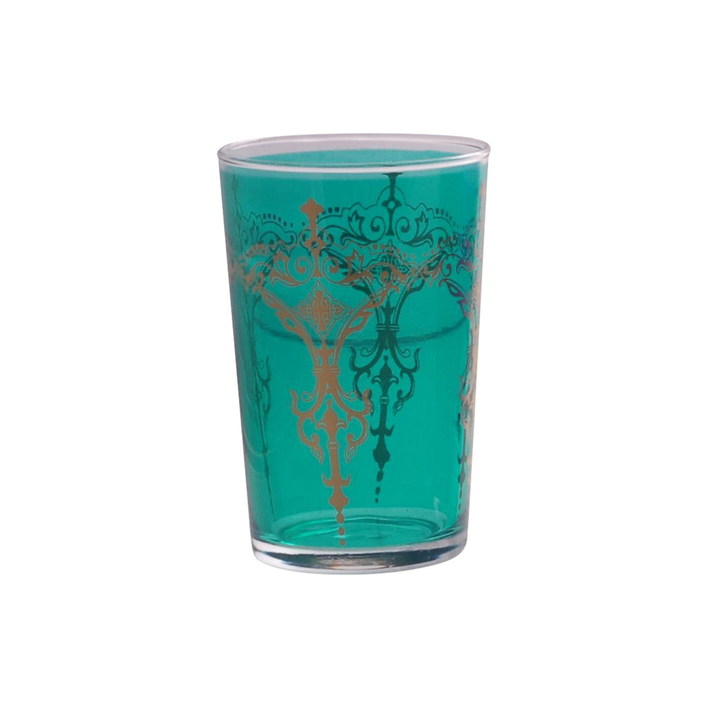 Tea glass Kandil, Aqua