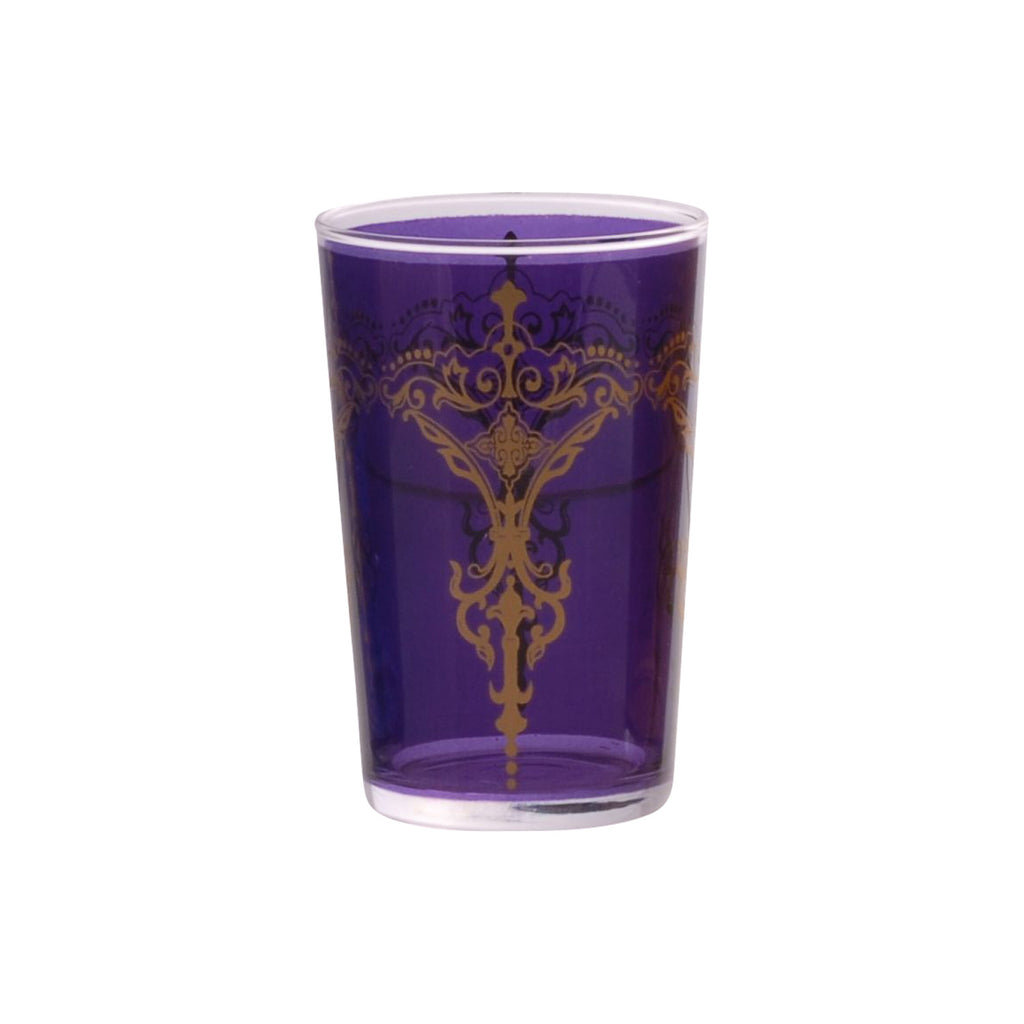 Tea glass Kandil, Violet