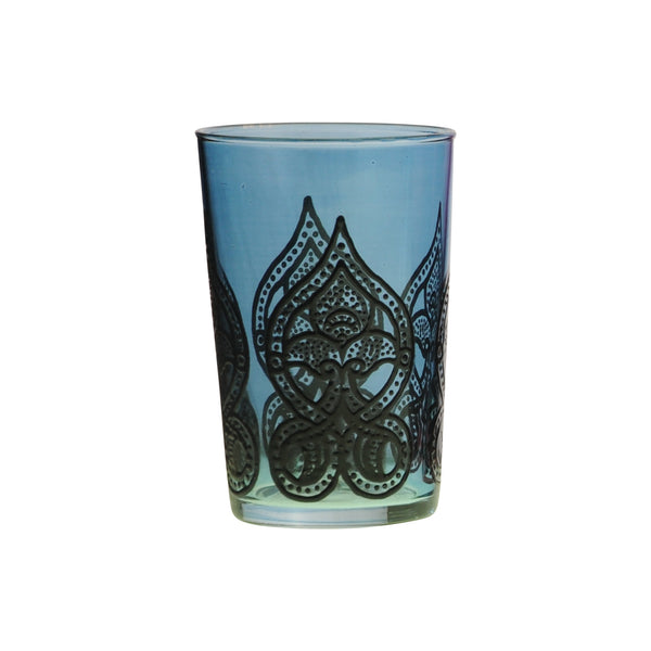 Tea Glass Mirab, Blue. D6xH9,5 cm