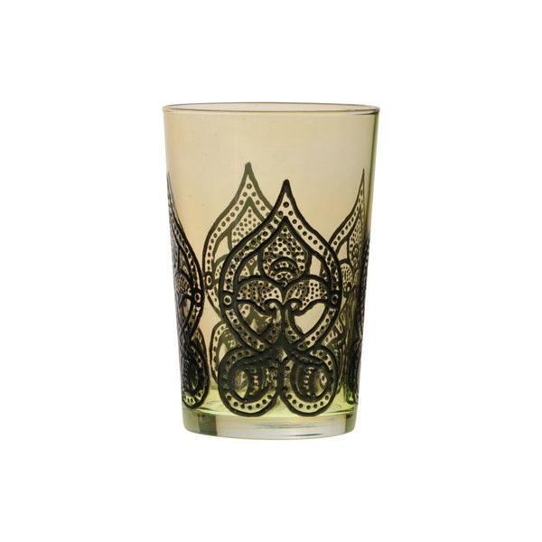 Tea Glass Mirab, Gold. D6xH9,5 cm