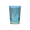 Tea glass Punto Relief, Blue