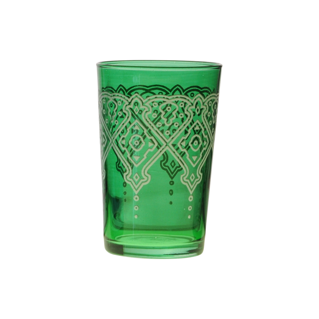 Tea glass Punto Relief, Green