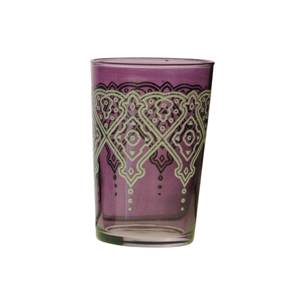 Tea glass Punto Relief, Violet
