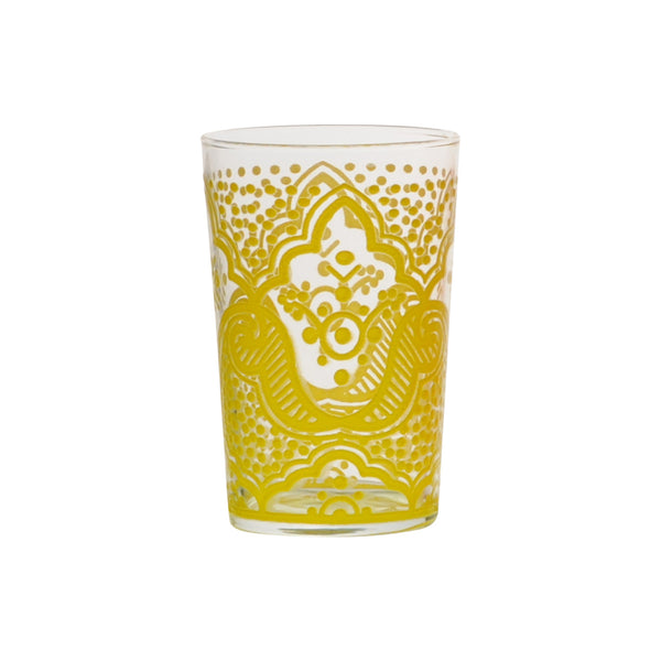 Tea glass Chiba, Yellow