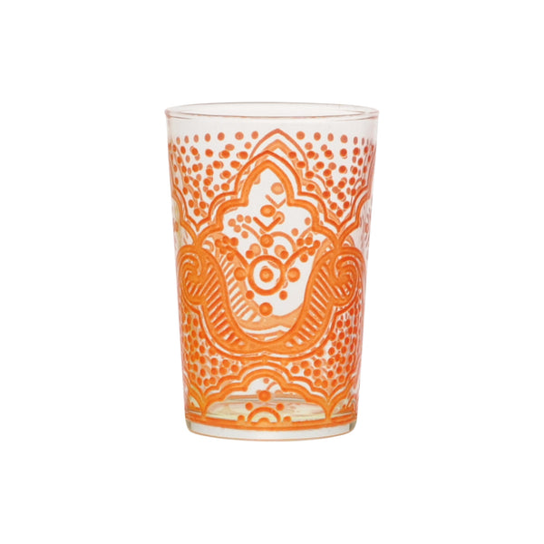 Tea glass Chiba, Orange