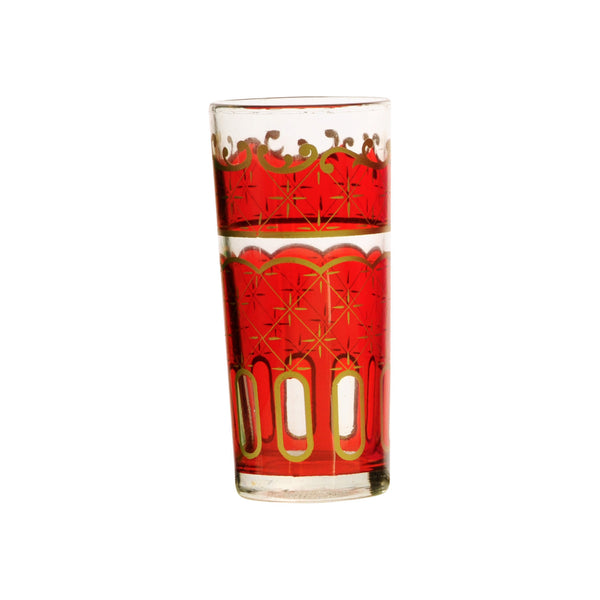 Water Glass Nejma, Red