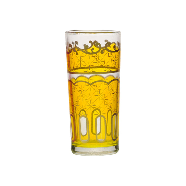 Water Glass Nejma, Yellow