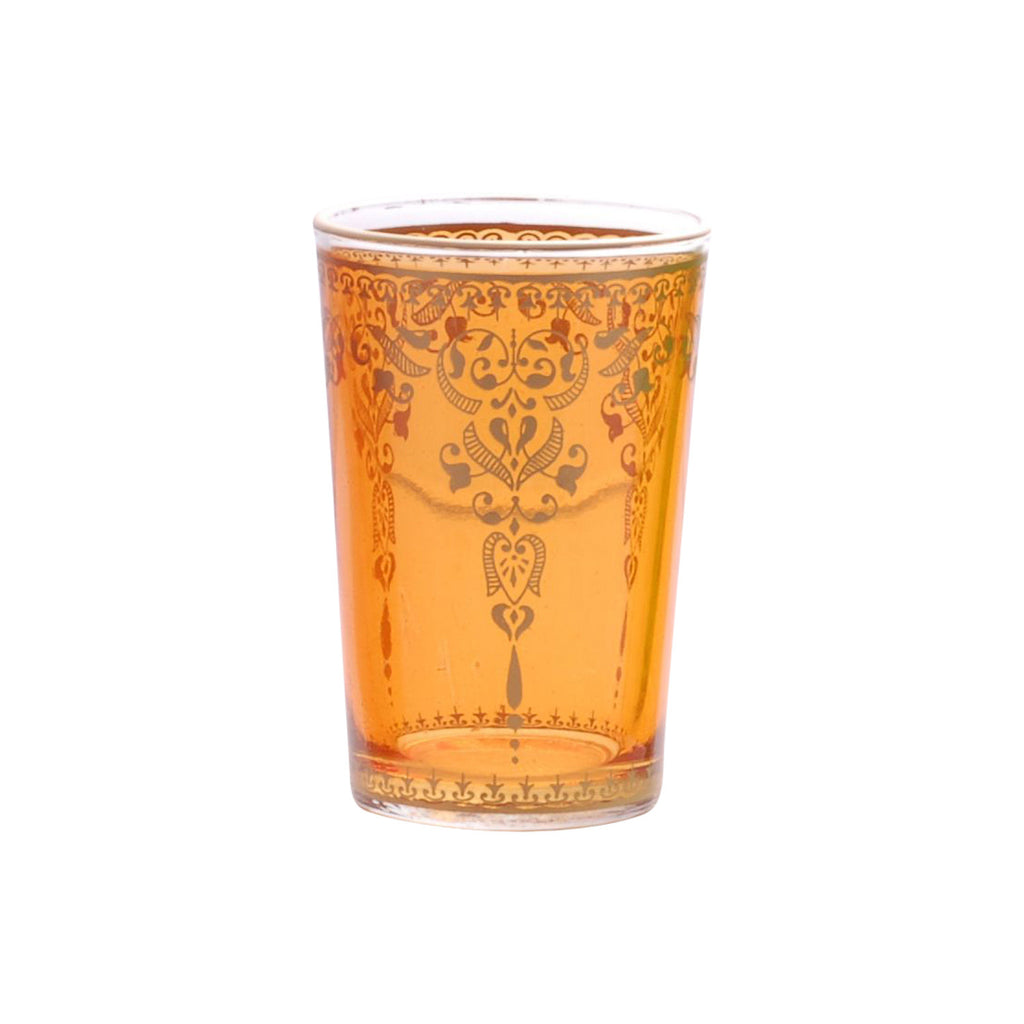 Tea glass Morjana, Orange