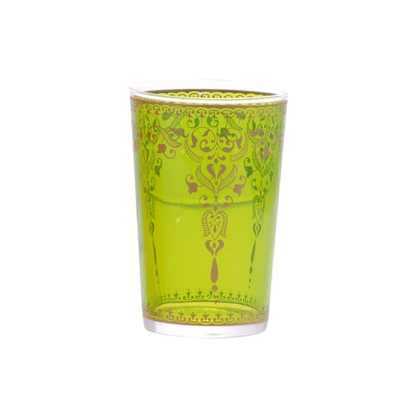 Tea glass Morjana, Light Green
