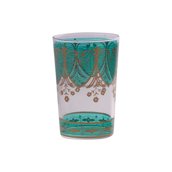 Tea glass Assif, Aqua