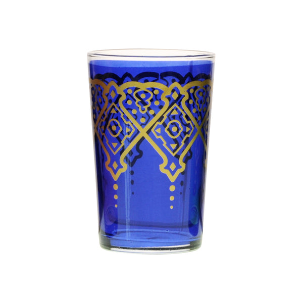 Tea glass Punto, Blue
