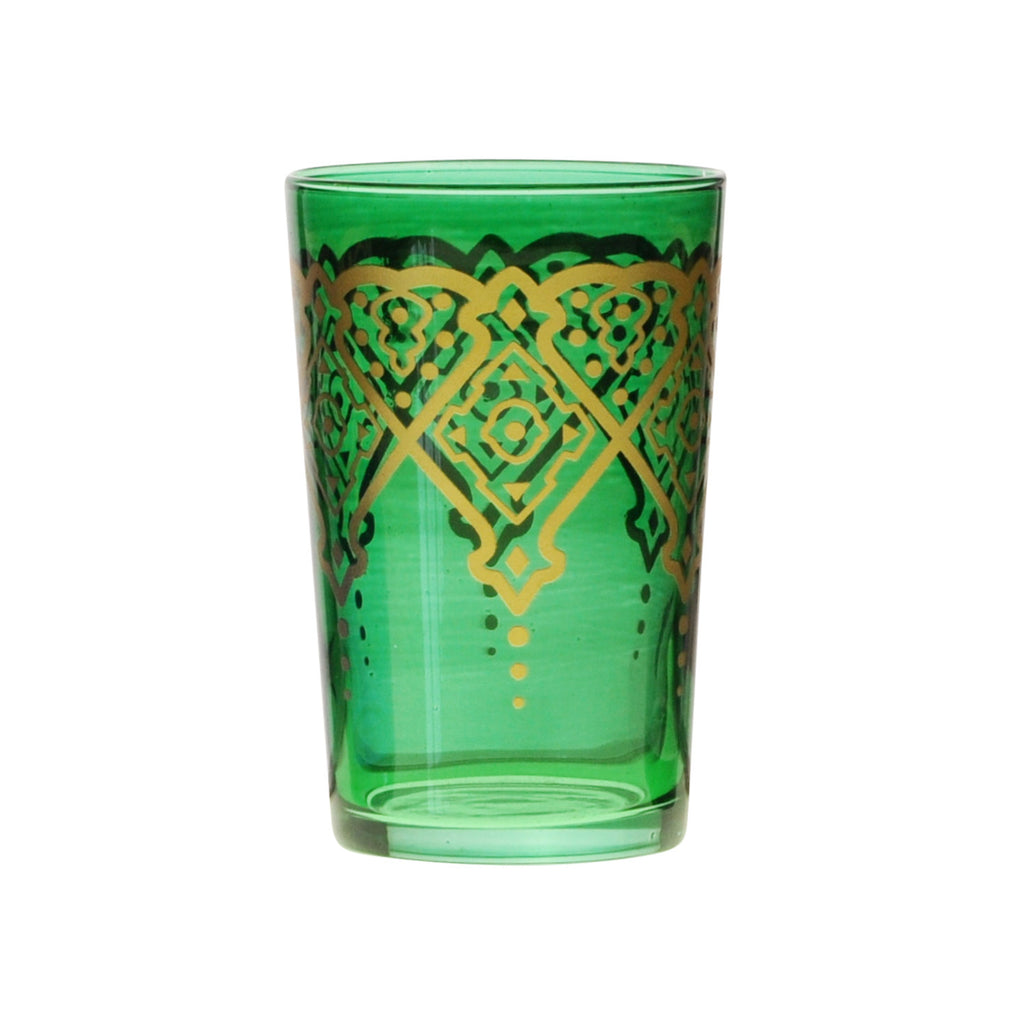 Tea glass Punto, Green