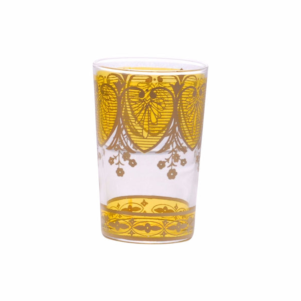 Tea glass Assif, Yellow