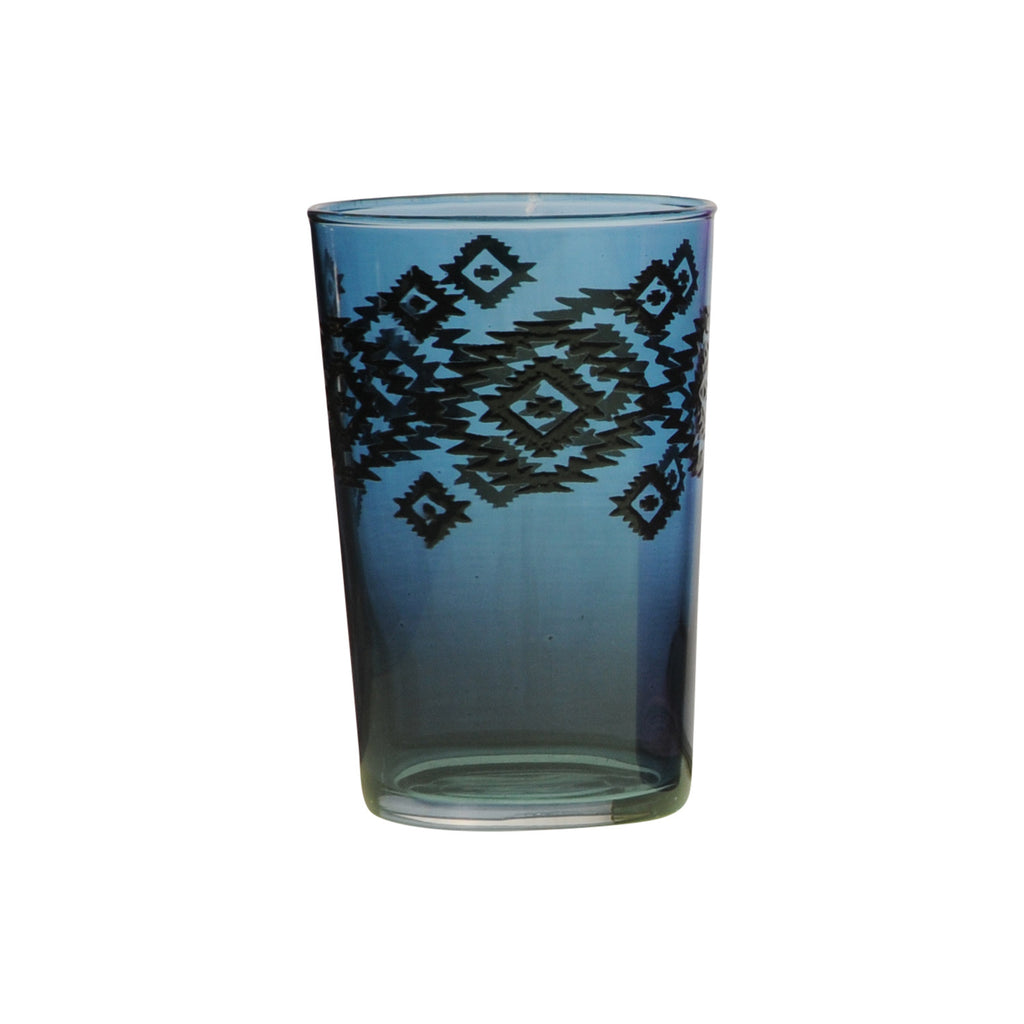 Tea Glass Zalag, Blue. D6xH9,5 cm