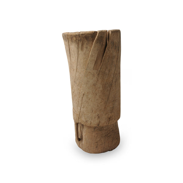 Antique wooden mortar, Touareg-M. Nr.44K41-02-00-001/002