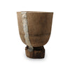 Antique wooden mortar, Touareg-L. Nr.44K41-03-00-001/003