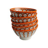 Ceramic Bowl Ayoun, D12cm. Orange