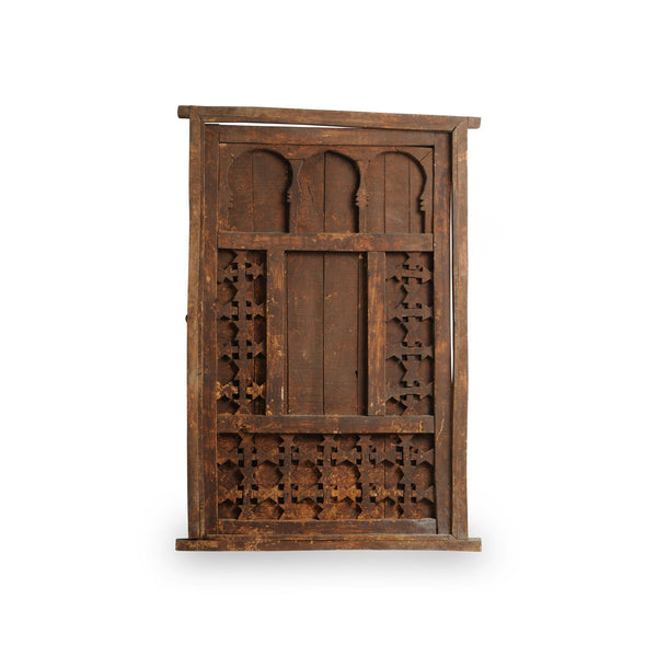 Antique Berber Door, wood, hand carved.Nr. 44K90-99-00-001/001