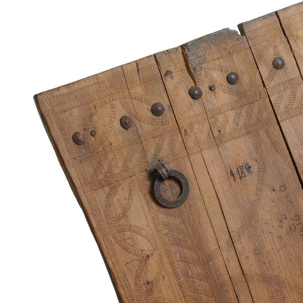 Antique Berber Door, wood, hand carved.Nr. 44K90-99-00-001/008