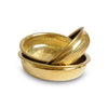 Hammam Bowl Maida L, Gold