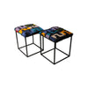 Stool IB Boucherrouite, Q40. Black