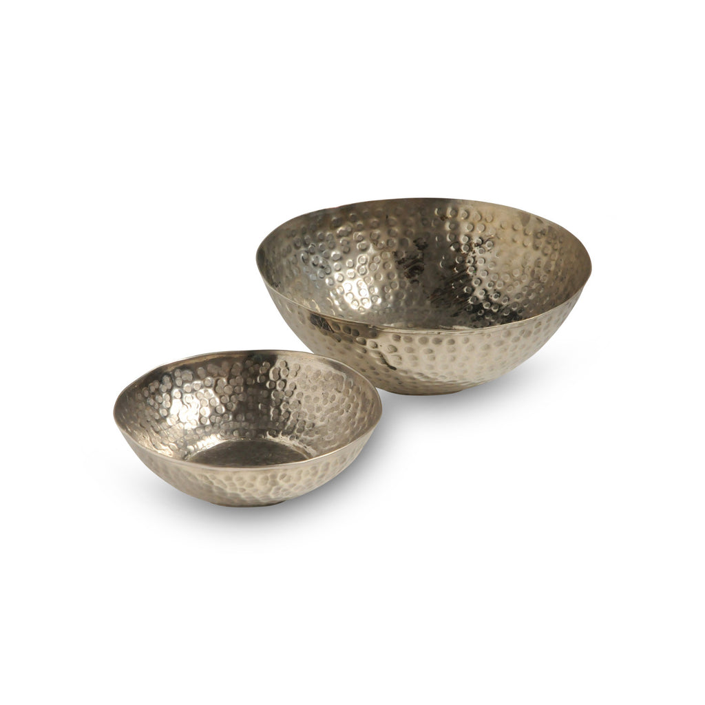 Antique Hammam Bowl Hammered S, silver