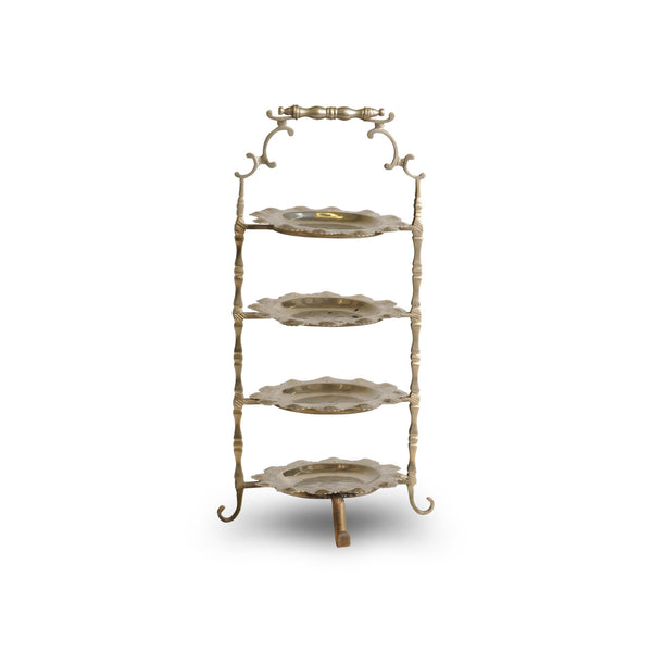 Antique Cake Etagere, silver