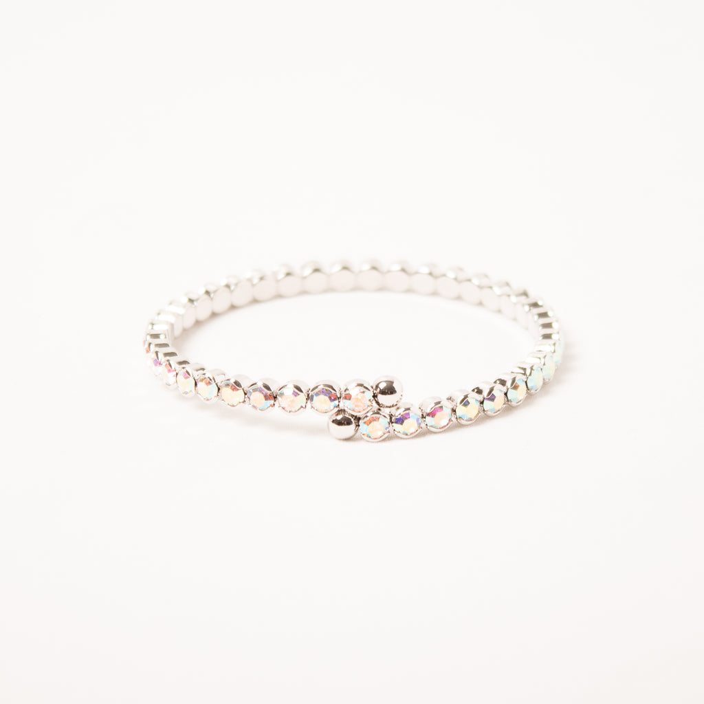 Ab Small Flexi Crystal Bangle