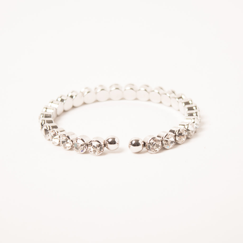 Single Row Medium Crystal Cuff