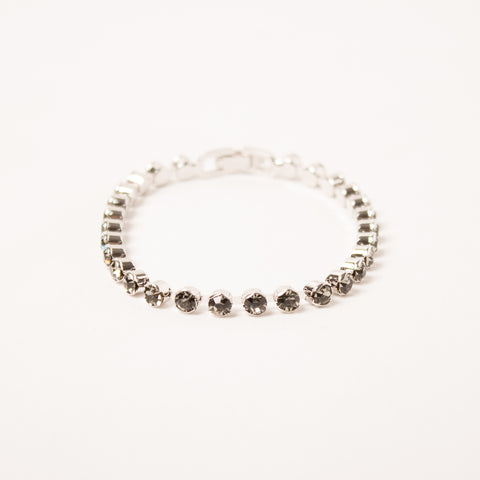 Small Crystal Flexi Bangle Black Diamond