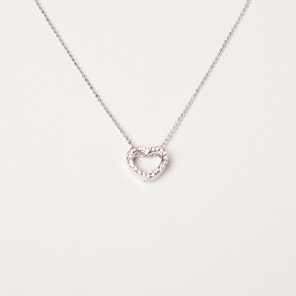 3D Small Heart Pendant