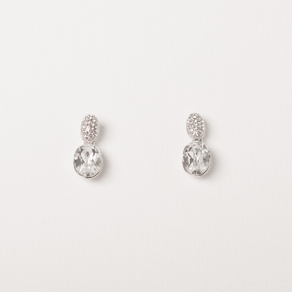 Double Earring Pearl Front/Back
