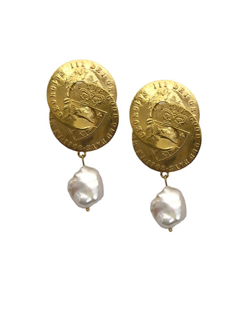 Nexus baroque pearl earrings