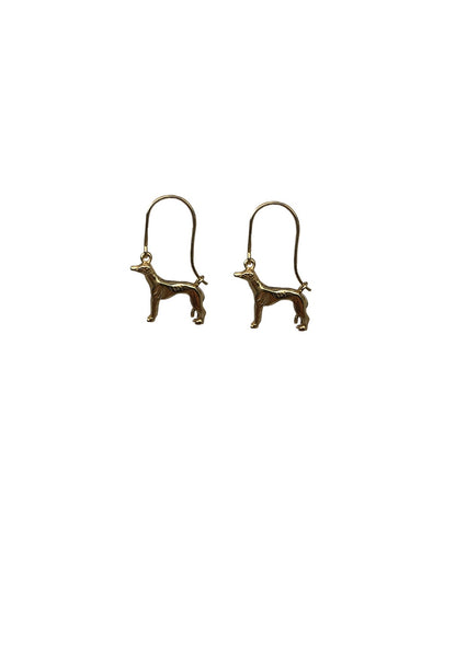 Sighthound Creole earrings