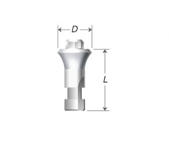 DIO SM & UF (II) Octa Abutment Analogue