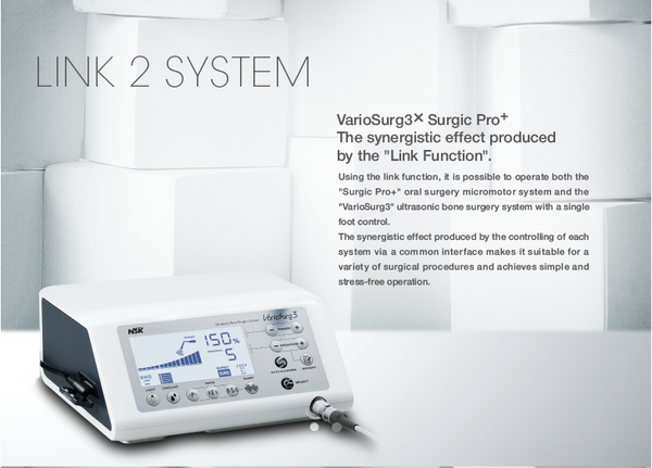 NSK Vario Surg 3 Ultrasonic Surgical Motor System with LED