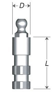 DIO UF(II) Narrow Ball Abutment Analog