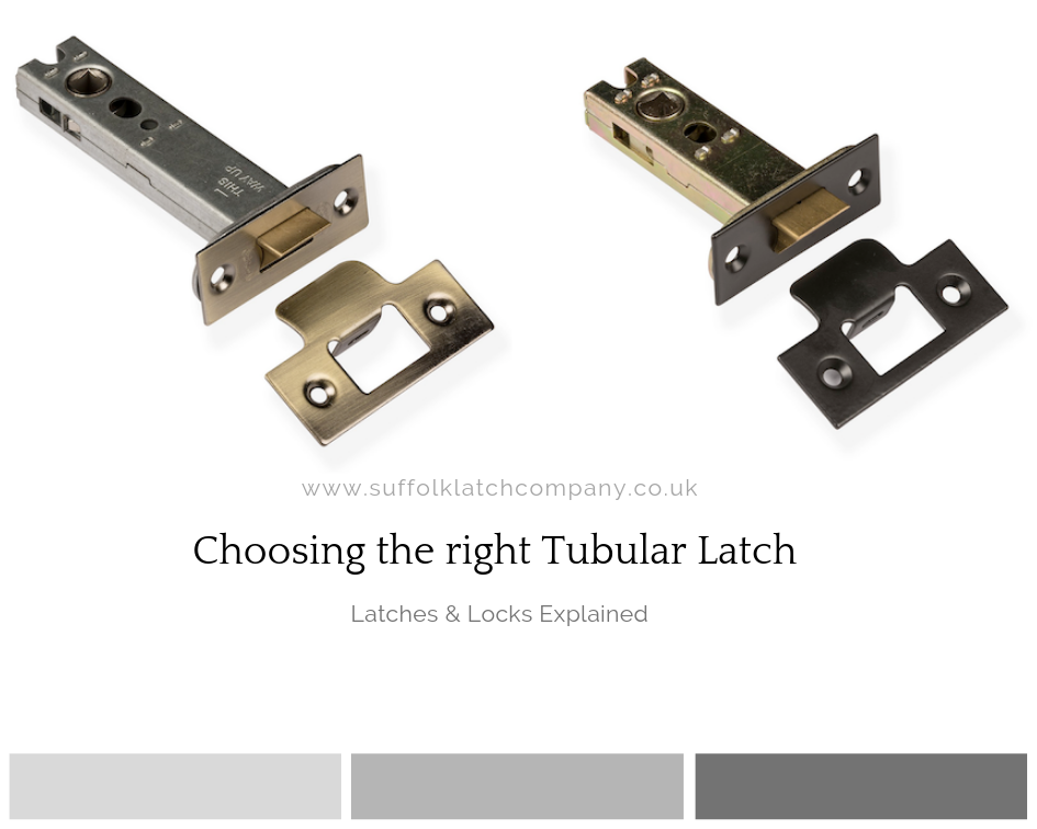 Choosing The Right Tubular Latch