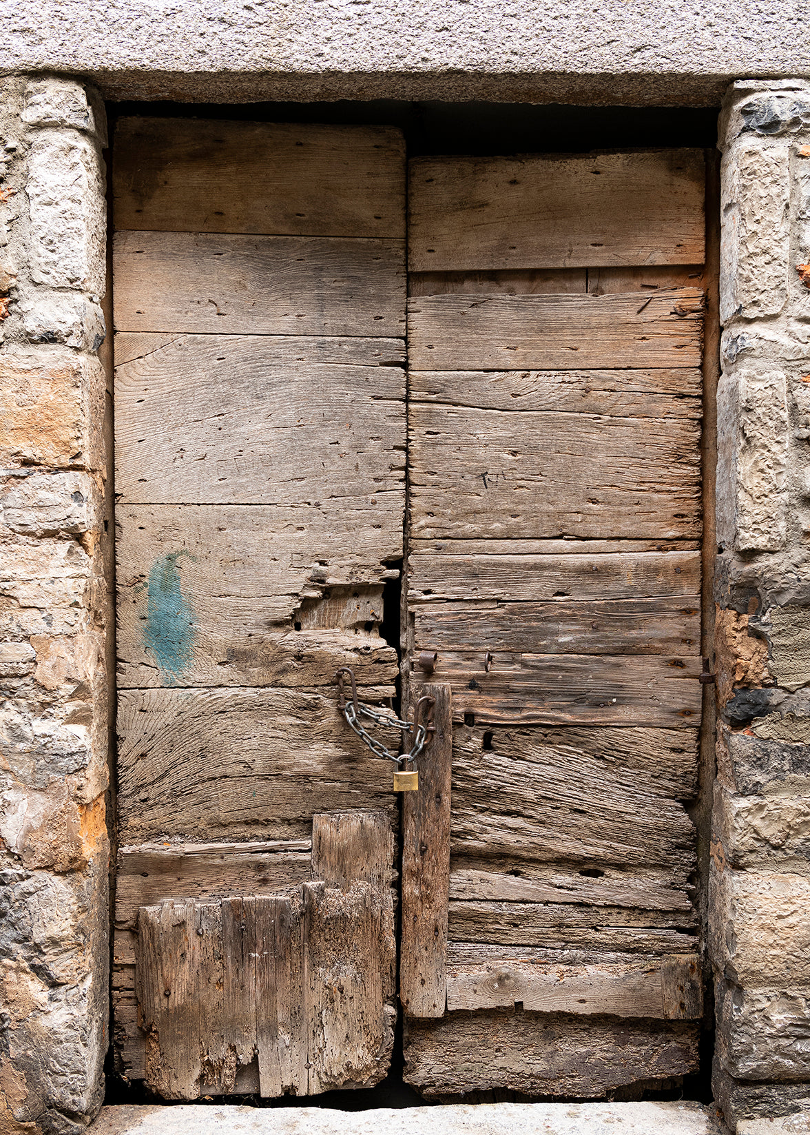 Rustic Door Varenna Lake Como