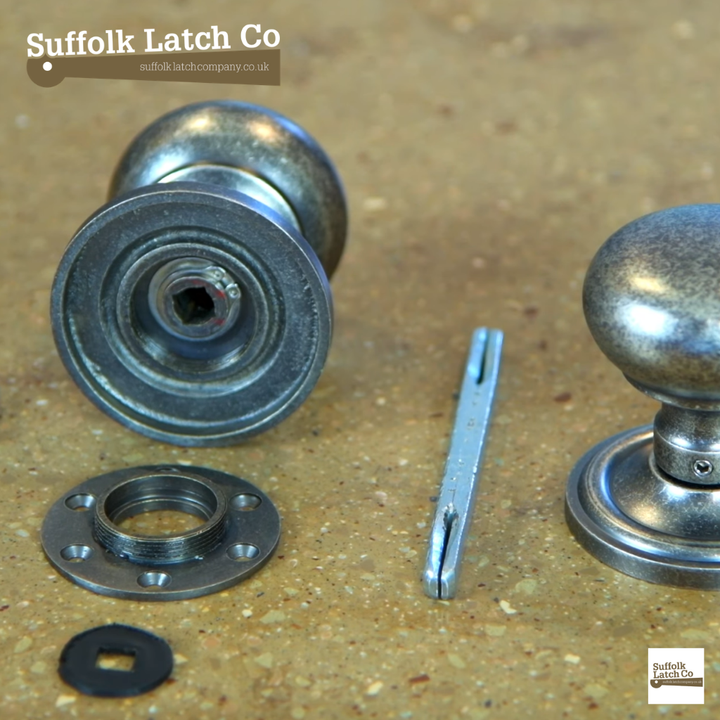 How To Fit A Door Knob With Concealed Fixings