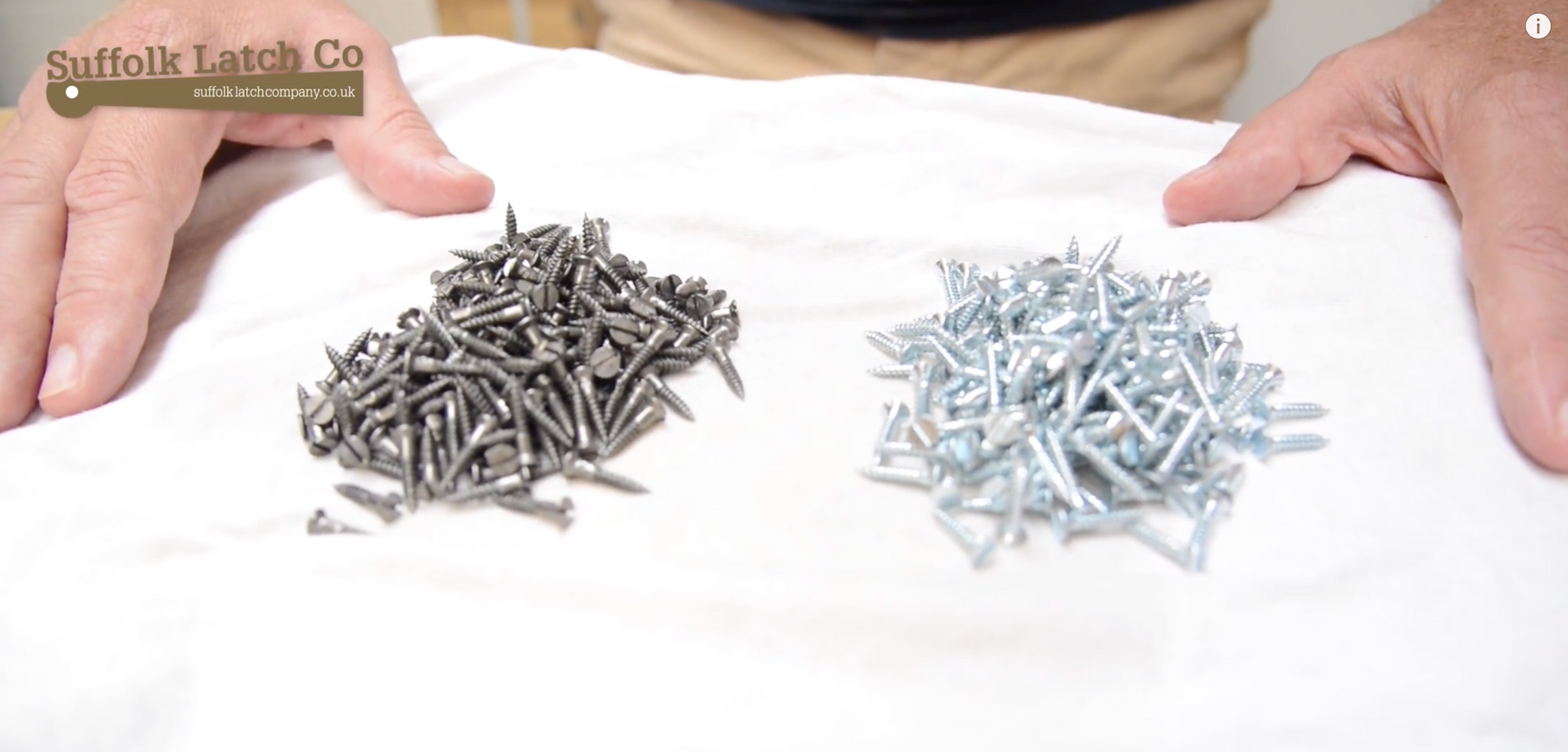 How to Strip Zinc Plating from Screws