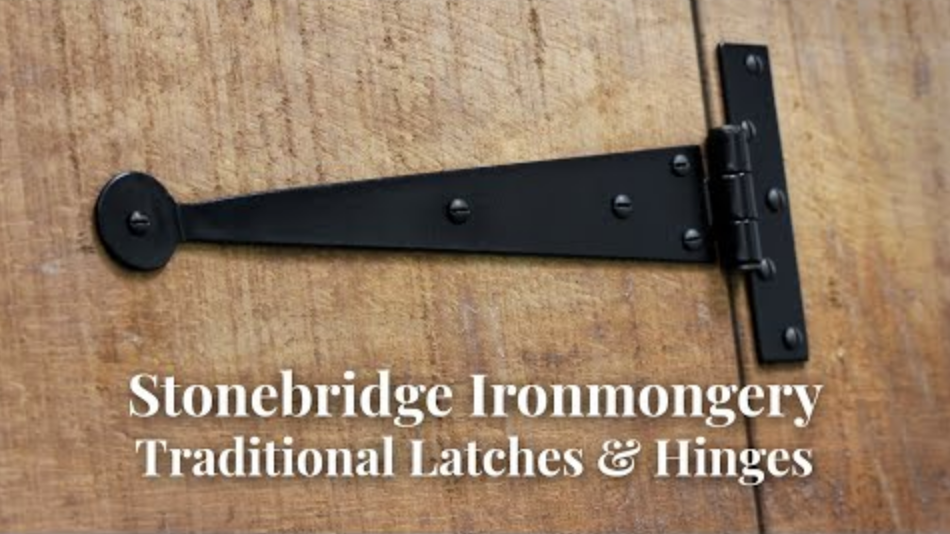 Stonebridge Ironmongery Traditional Latches & Hinges