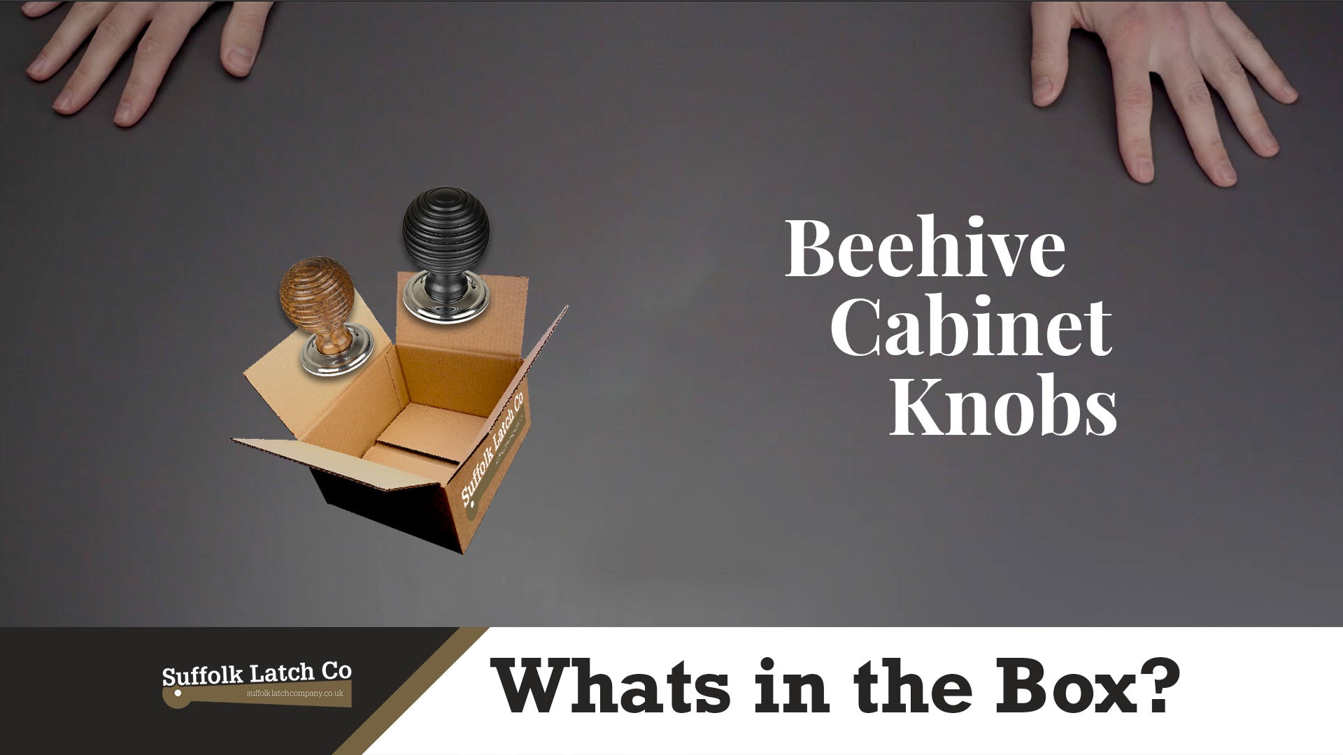 What's In The Box: Beehive Cabinet Knobs