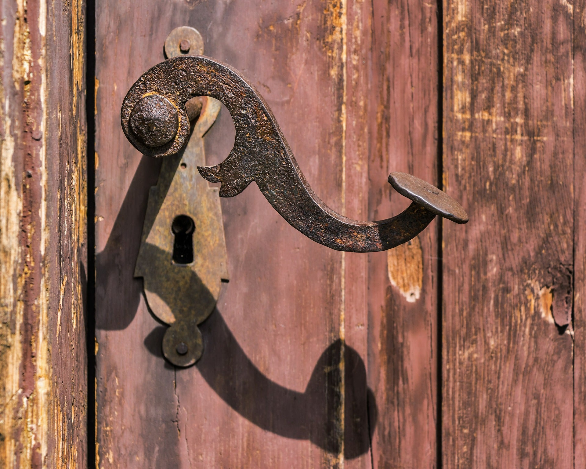 medieval door handles and vintage door handles