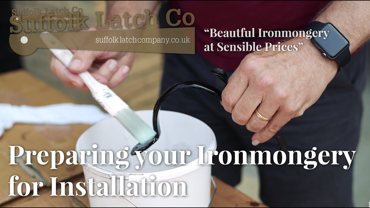 Video Guide: How To Prepare Beeswax Ironmongery